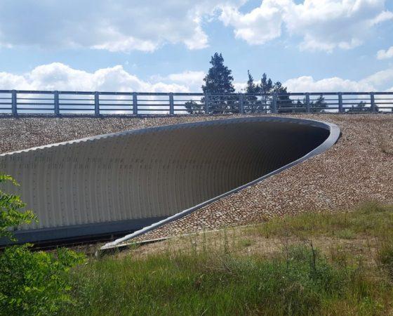 Przebudowa mostu ibudowa wiaduktu wm. Herburtowo